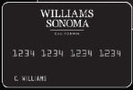 Picture of the Williams-Sonoma Credit Card front