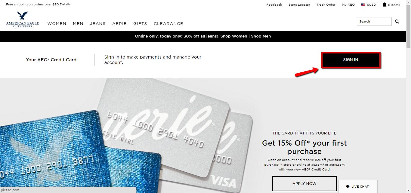 American Eagle Credit Card Login | Make a Payment - CreditSpot