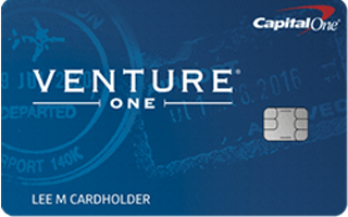 Picture of the Capital One® VentureOne® Rewards Credit Card front