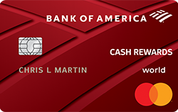 Picture of the Bank of America® Cash Rewards Credit Card front