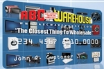 Picture of the ABC Warehouse Credit Card front