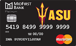 Picture of the ASU Rewards Credit Card front