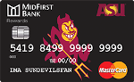 Picture of the ASU Platinum Credit Card front