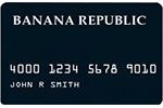 Picture of the Banana Republic Credit Card front