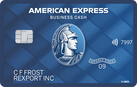 Picture of the American Express® Blue Business Cash Card front