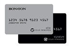 Picture of the Bon-Ton Credit Card front