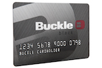 Picture of the Buckle Credit Card front