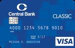 Central Bank Visa Classic Credit Card