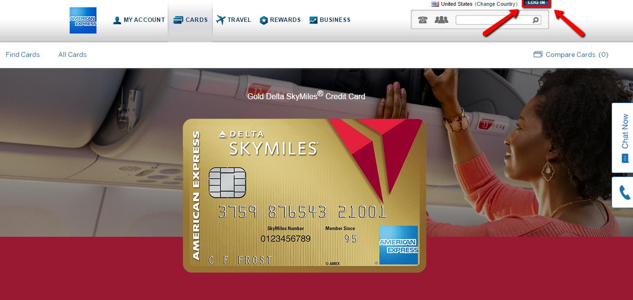 American Express Delta Card Login >> Delta Skymiles Credit Card Login Make A Payment Creditspot