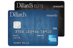 Picture of the Dillard's Credit Card front