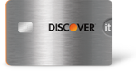 Picture of the Discover it Chrome Student Credit Card front
