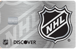 Picture of the NHL Discover it Credit Card front