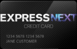 Picture of the Express Next Credit Card front