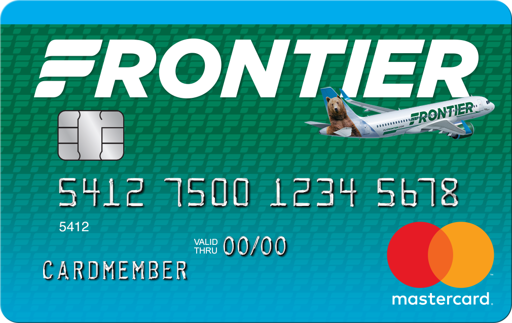Picture of the Frontier Airlines World MasterCard® front