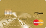 Picture of the Affinity Credit Union Gold MasterCard front