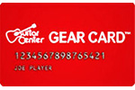 Picture of the Guitar Center Credit Card front