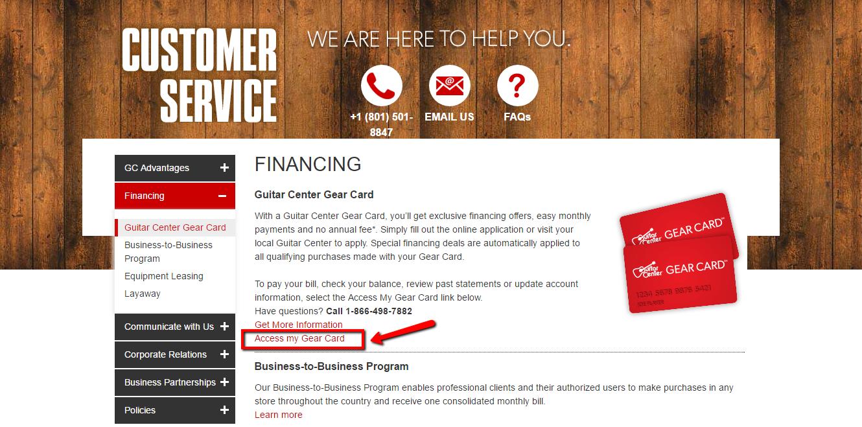 guitar center credit card login make a payment creditspot. Black Bedroom Furniture Sets. Home Design Ideas