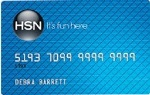 Picture of the HSN Credit Card front