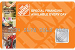 Picture of the Home Depot Credit Card front