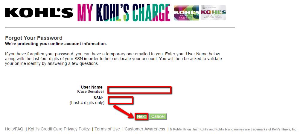 Kohls card login page / Babies r us miami