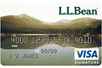Picture of the L.L. Bean Credit Card front