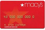 Picture of the Macy's Credit Card front