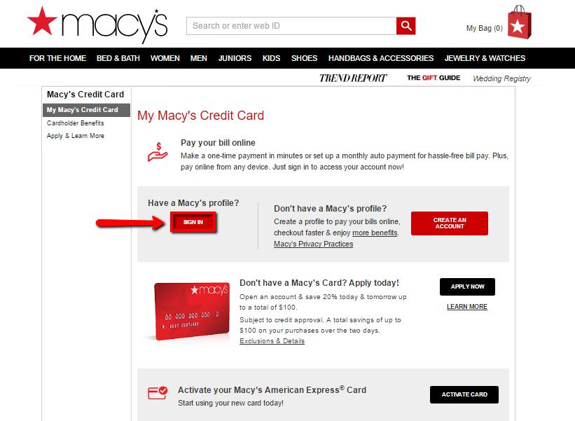 discount using macys credit card