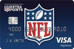 Picture of the NFL Extra Points Credit Card front