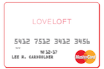 Picture of the Loft Credit Card front
