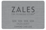 Picture of the Zales Credit Card front
