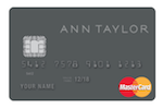 Picture of the Ann Taylor Credit Card front