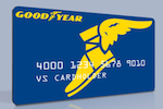 Picture of the Goodyear Credit Card front
