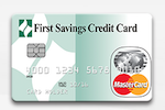 Picture of the First Savings Credit Card front