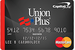 Picture of the Union Plus Credit Card Rate Advantage front