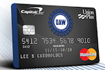 Picture of the Union Plus Credit Card Credit Access front