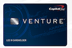 Picture of the Capital One® Venture® Rewards Credit Card front