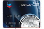 Picture of the Chevron Premium Credit Card front