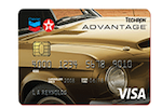 Picture of the Chevron VISA Card front