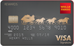 Picture of the Wells Fargo Visa Signature Card front