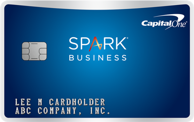 Picture of the Capital One® Spark® Miles for Business Credit Card front