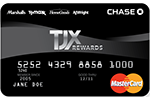 Picture of the TJ Maxx Credit Card front
