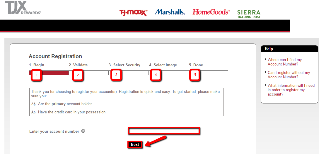 TJ Maxx Credit Card Login | Make a Payment - CreditSpot