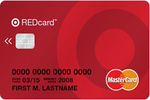 Picture of the Target Red Card Credit Card front