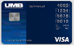 Picture of the UMB Visa Credit Card front