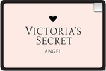 Picture of the Victoria's Secret Angel Credit Card front