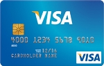 Picture of the AgFed Credit Union Secured Visa Credit Card front