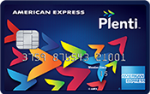 Picture of the Plenti American Express Credit Card front
