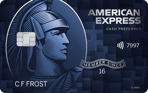 Picture of the Amex Blue Cash Preferred Credit Card front