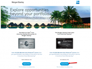 How to Apply to American Express Morgan Stanley Credit Card - CreditSpot