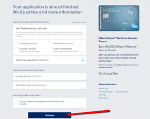 How to Apply to Hilton HHonors Amex Credit Card Login ...